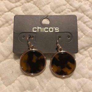NWT Brown/Black Dangle Earrings